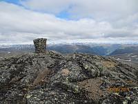 Toppvarden på Okken Nordtoppen