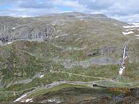Ned mot startpunktet og Okken på andre siden av dalen