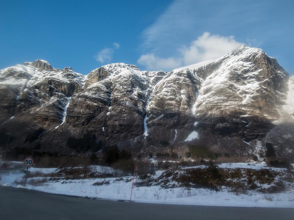 Reintindan-traversen sett fra Storvik