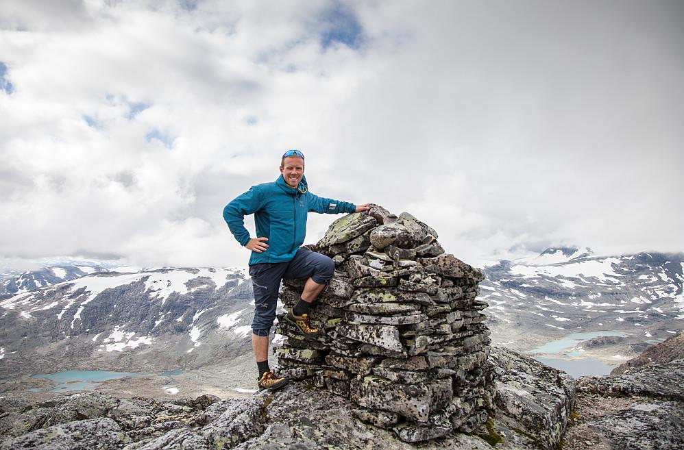 Meg på toppen av Høgbrøthøgde