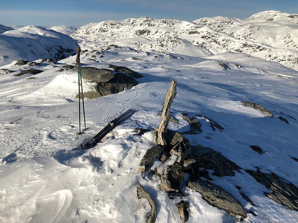 Toppen av Gråtindane