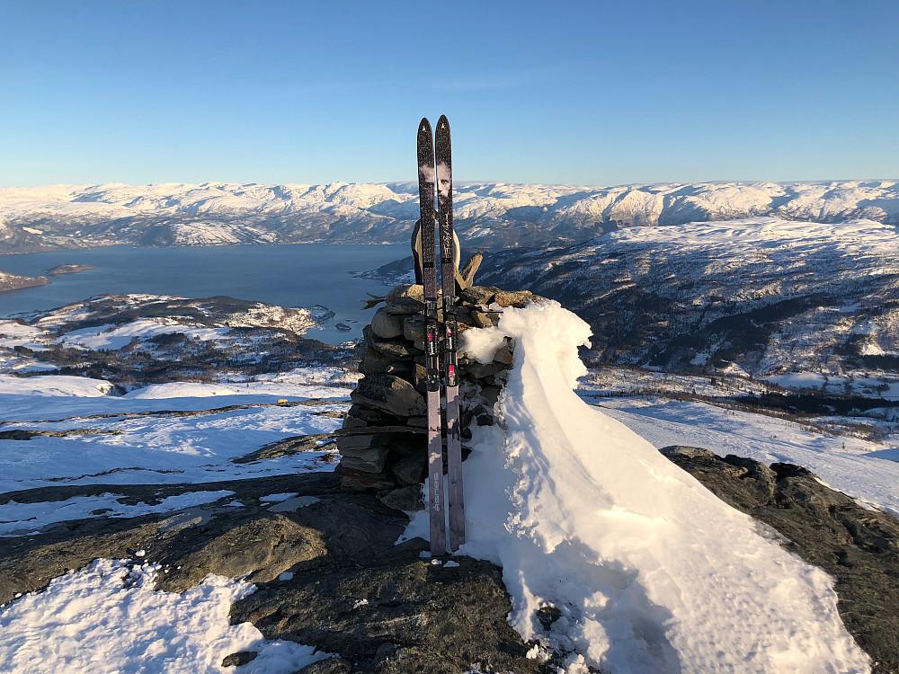 Toppen av Geitafjellet
