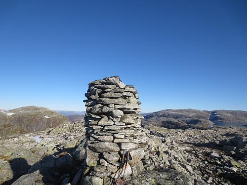 Toppvarden på Jutastighorga, 1242 moh.