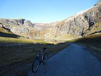 Sykkeletappen var fra Jukla kraftstasjon og til sørenden av Goddalsvatnet. Ca 3,5 km.