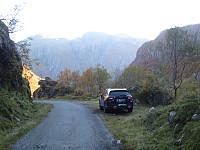 Egnet parkering for tur mot Reppakruna.