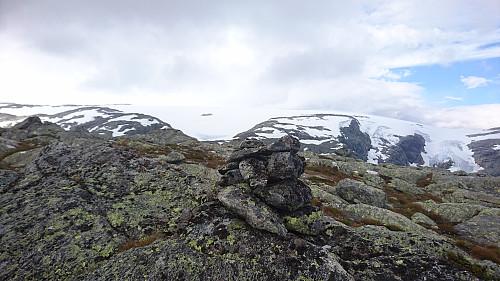 Toppen av Ruklenuten, 1381 moh.