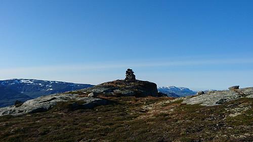 Toppen av Sandnuten, 1349 moh.