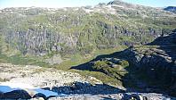 Utsikt ned i Storebotnen.