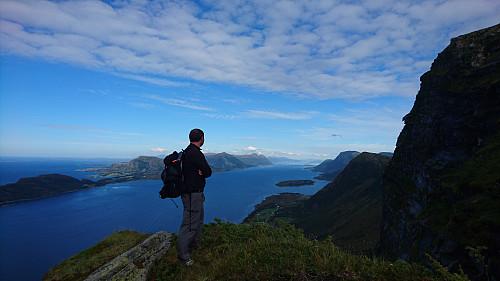 Flotte omgivelser ved Ramnfloge. Utsikt inn mot Molde.