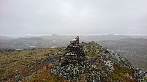 Toppen av Grytehorgi, 1449 moh.