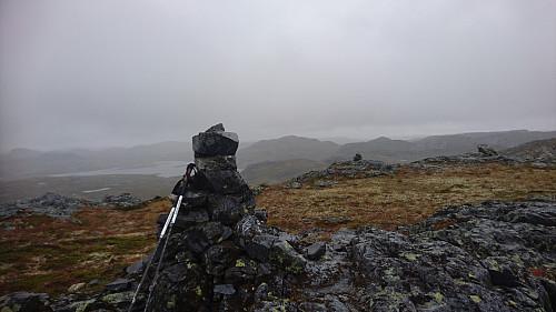 Toppen av Holken, 1428 moh.