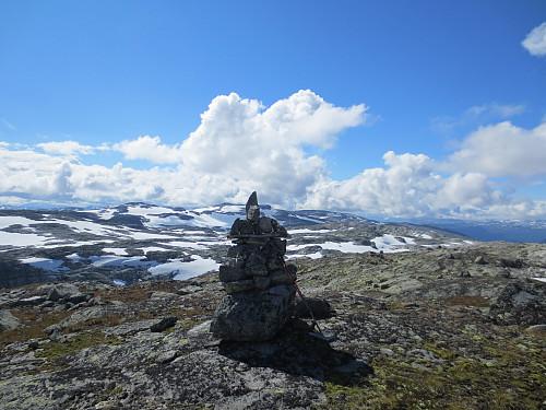 Toppen av Bjørnanuten, 1611 moh.