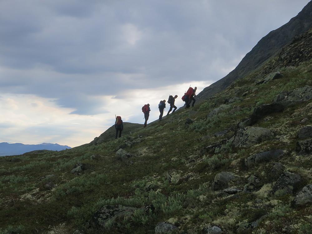 Opp mot Heimre Illåe fra Ytterdalssætre