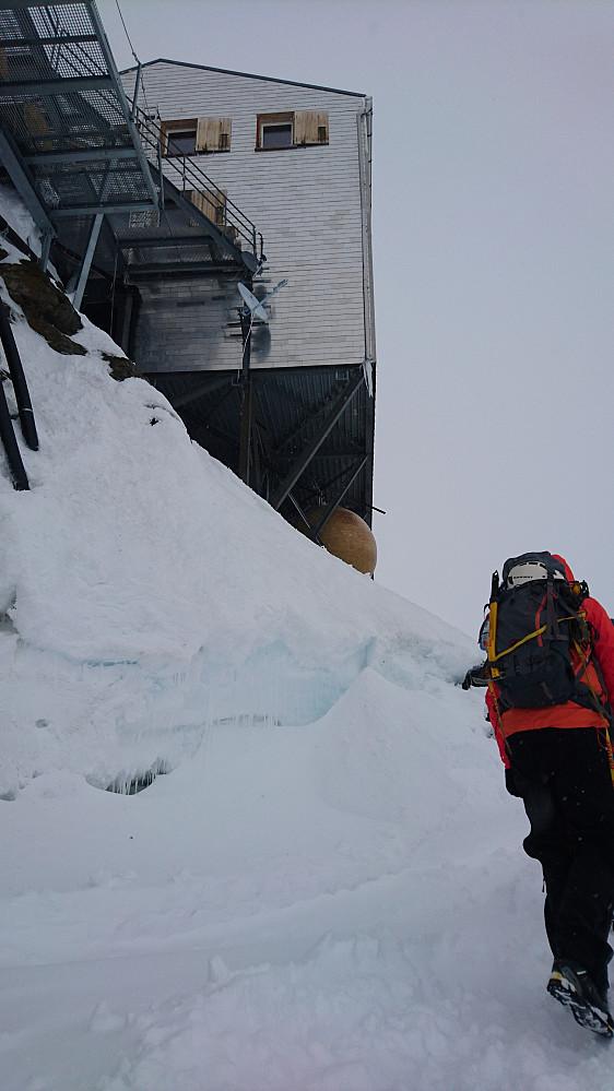 ankomst Mönchjochhütte