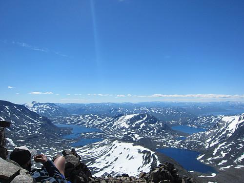 Nydelig utsikt fra toppen