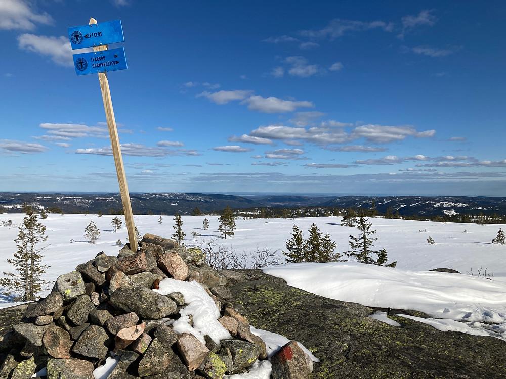 Toppvarden på Stølefjell.