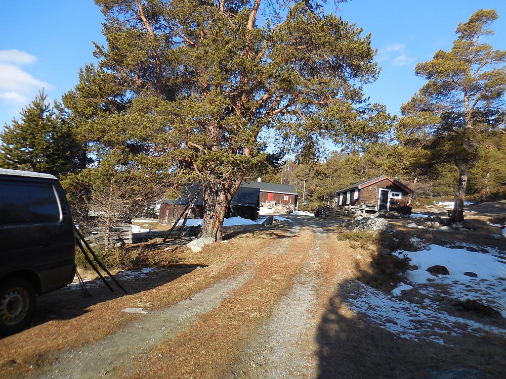Turstart fra Bjøknesætra