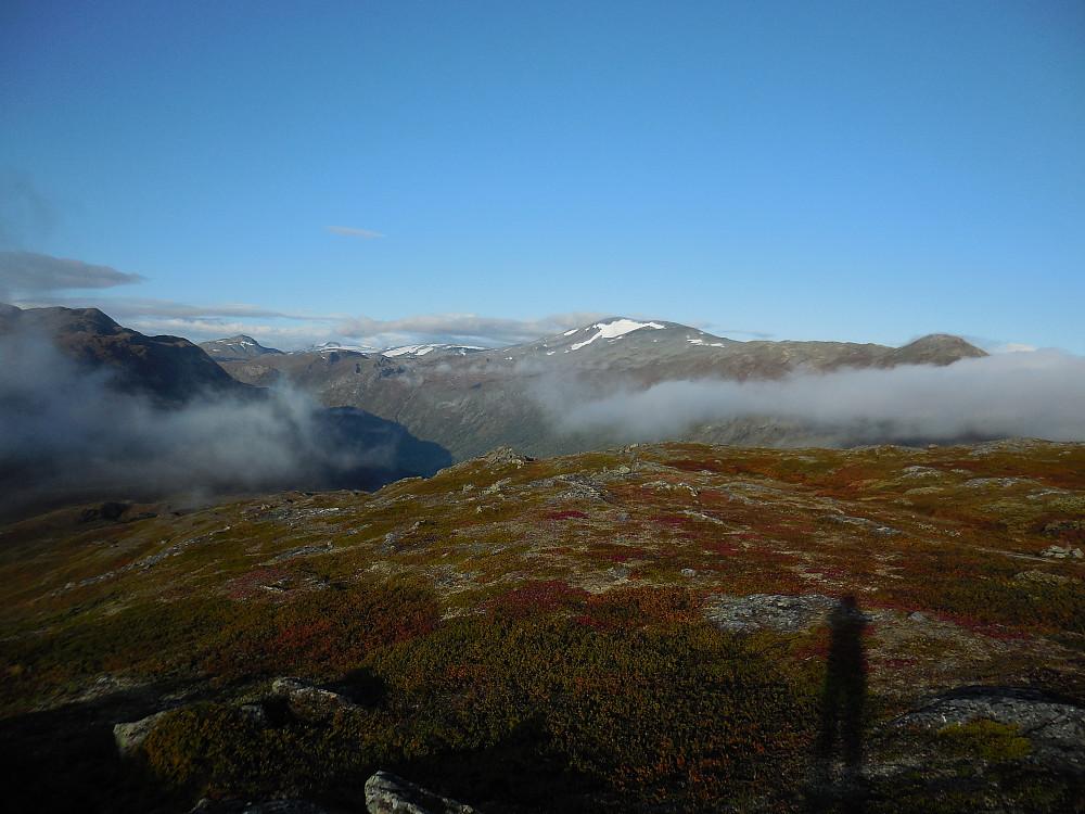 Utsikt fra Læshøe mot Storivilen.