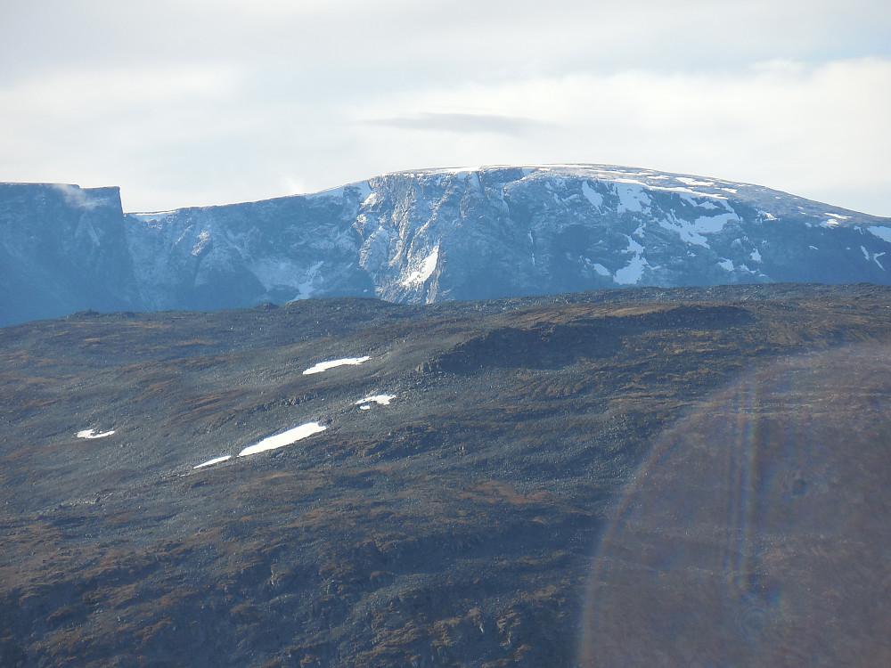 Nysnø på Trollsteinhøene.