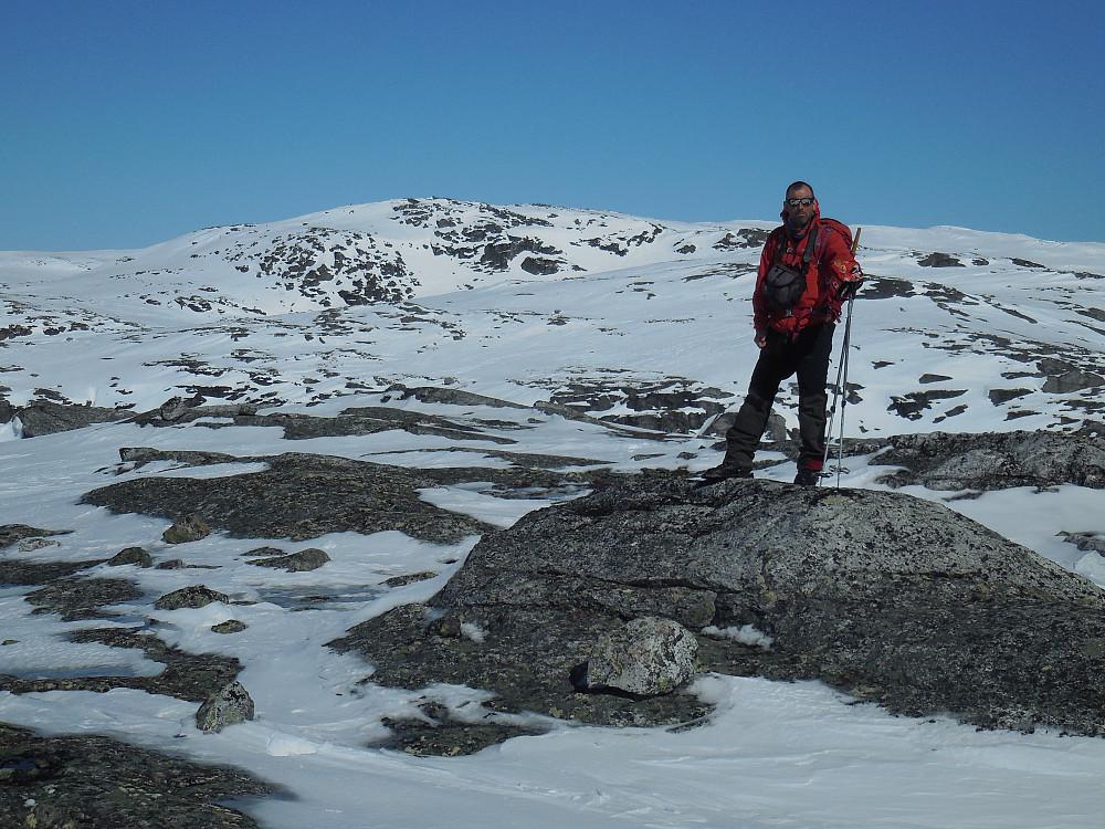 Fra Tordskyrkja, 1513 moh. med Gøymene bakenfor.