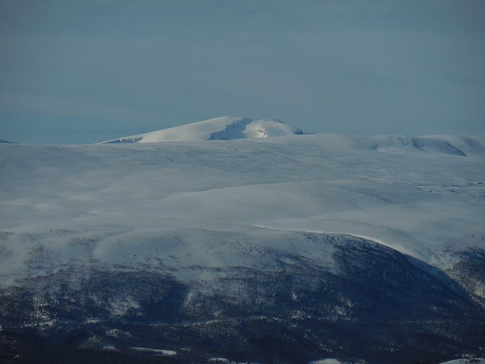 Snøhetta med Østtoppen og Midttoppen.