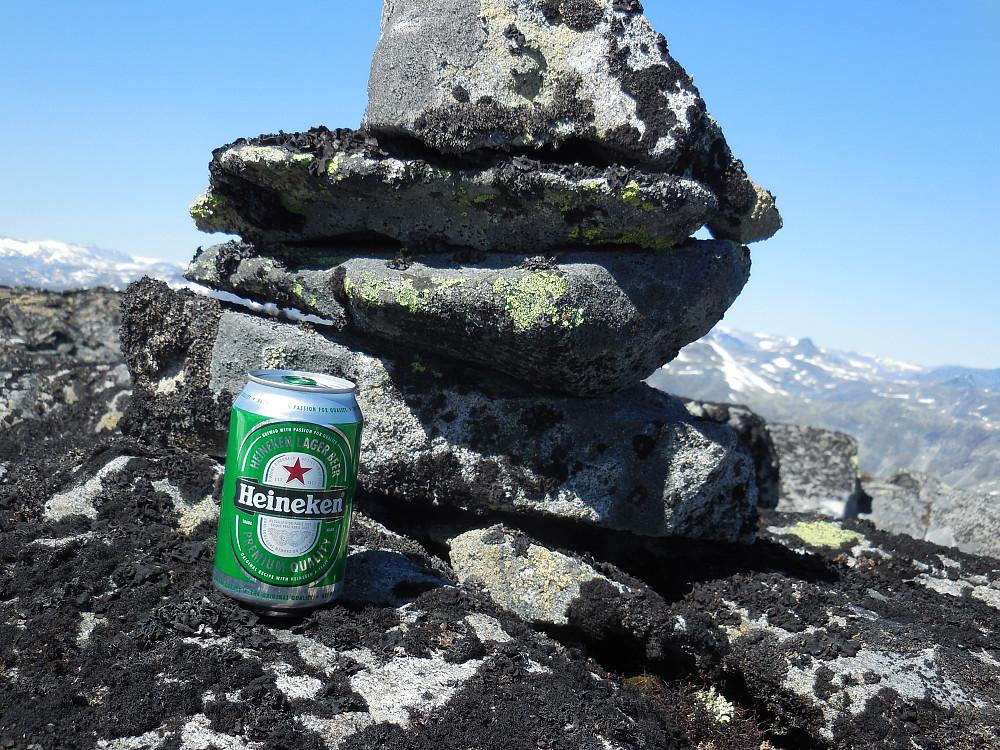Ingenting som en kald Heineken på toppen!!