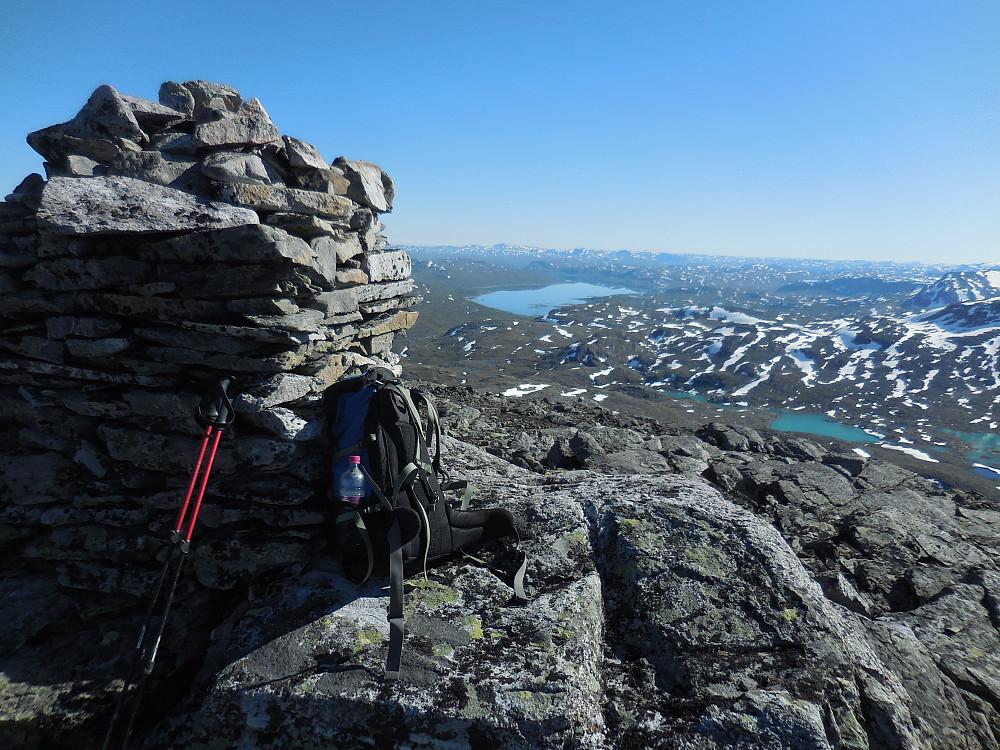 Høgbrøthøgde, 1821 moh.