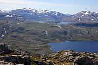 Utsikt mot Breivatna