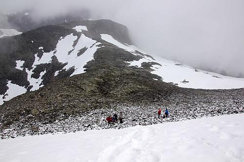 Nysnø fra ca. 1400 moh