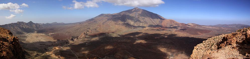 Pico del Teide sett fra Guajara