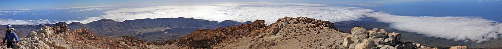 Panorama fra Teide