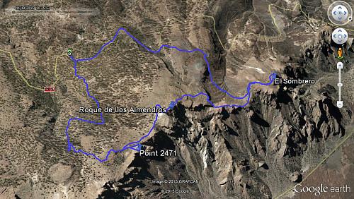 GPS-tracks fra turen