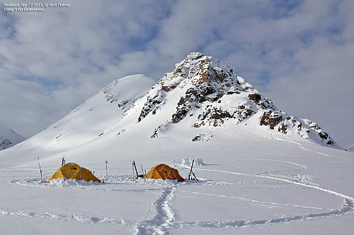 Camp 5 på Gallerbreen