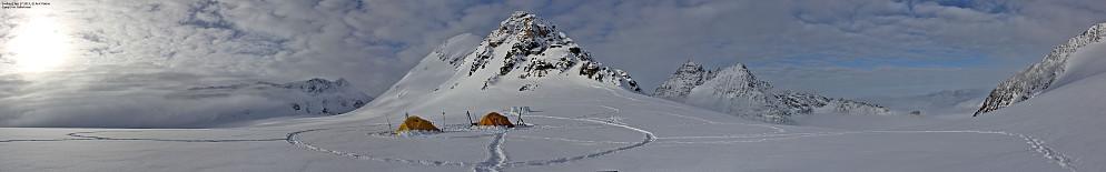 Camp 5 på Gallerbreen