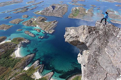 Utsikten fra Rødøyløva er uforglemmelig...