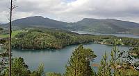 Utsikt mot Aspøya og Vettafjellet