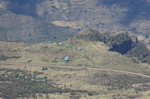 Image 16: View towards Chenneck Camp (3620 m.a.m.s.l.)