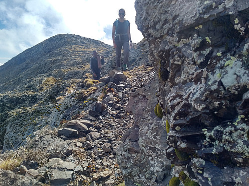 #43: Trekking along the mountain ridge of Kidis Yared.