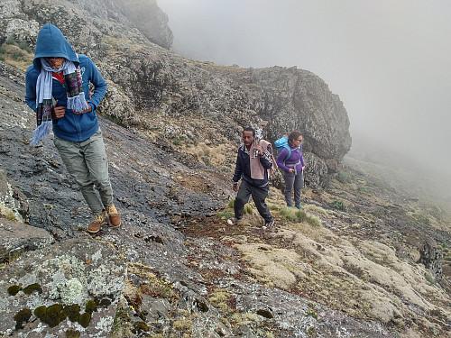 #48: Embarking upon the climb...