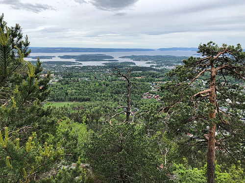 Utsikt fra Søndre Kolsås