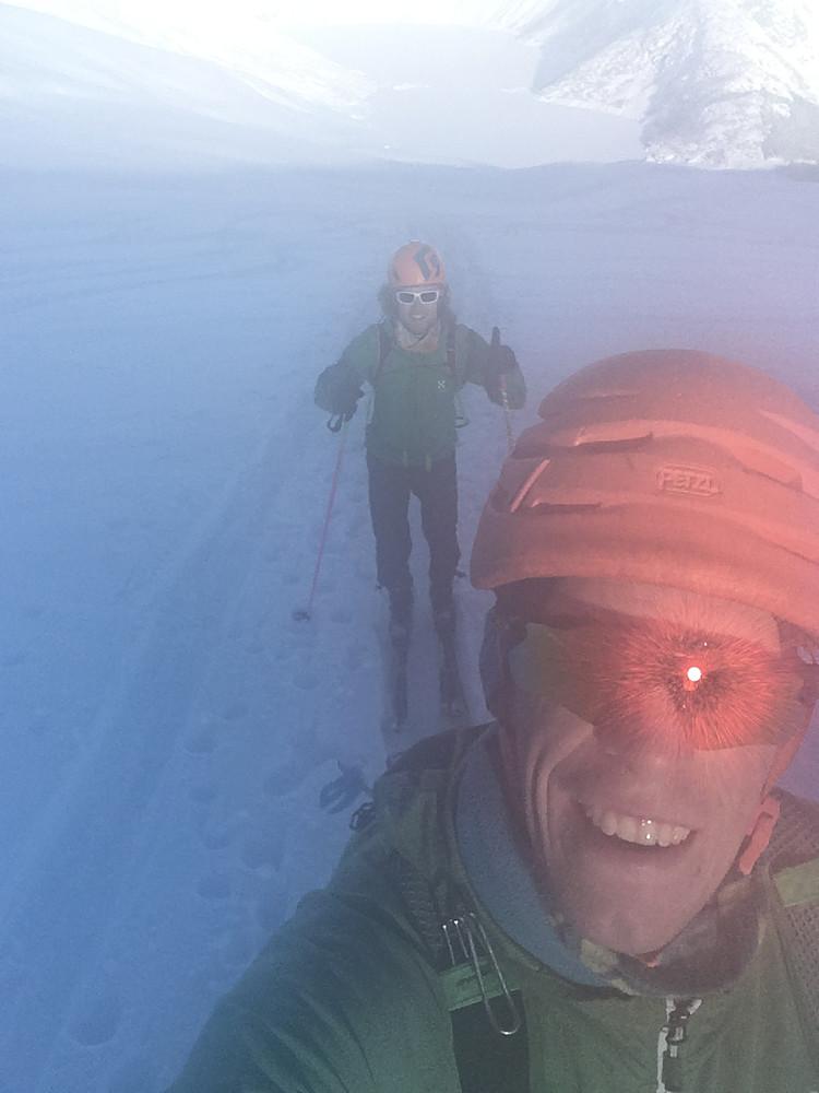 Kald start ved Tunsbergdalsvatnet