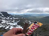 Utsikt fra Nordre Næremstind