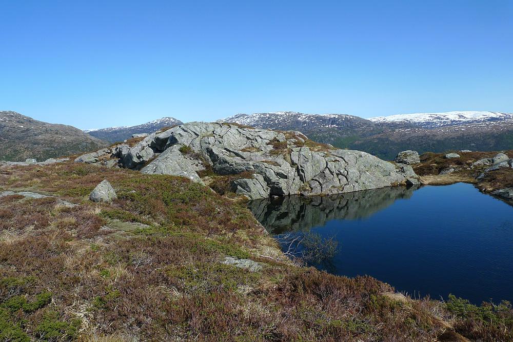 Storlifjellet 565 sett fra sørvest