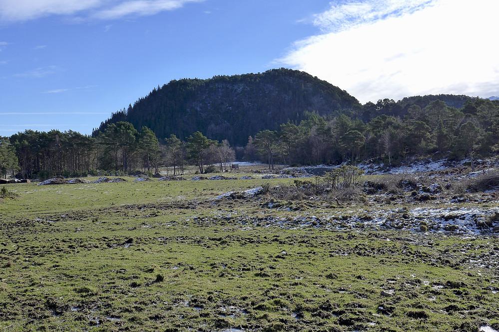 Storåsen på Svanøy sett fra NNØ