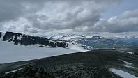 Fra Trollstein-Rundhøe mot Galhøpiggen-området