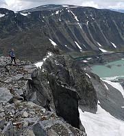 Jans Pinakkel nord for Trollstein-Rundhøe