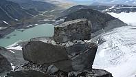 Toppdelen av Jans Pinakkel mot Trollsteintjønne