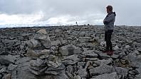 Jan ved en annen varde på Store Trollsteinhøe