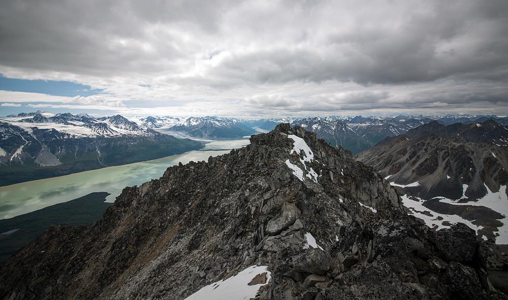 Toppen av Kippersund sett fra nordtoppen