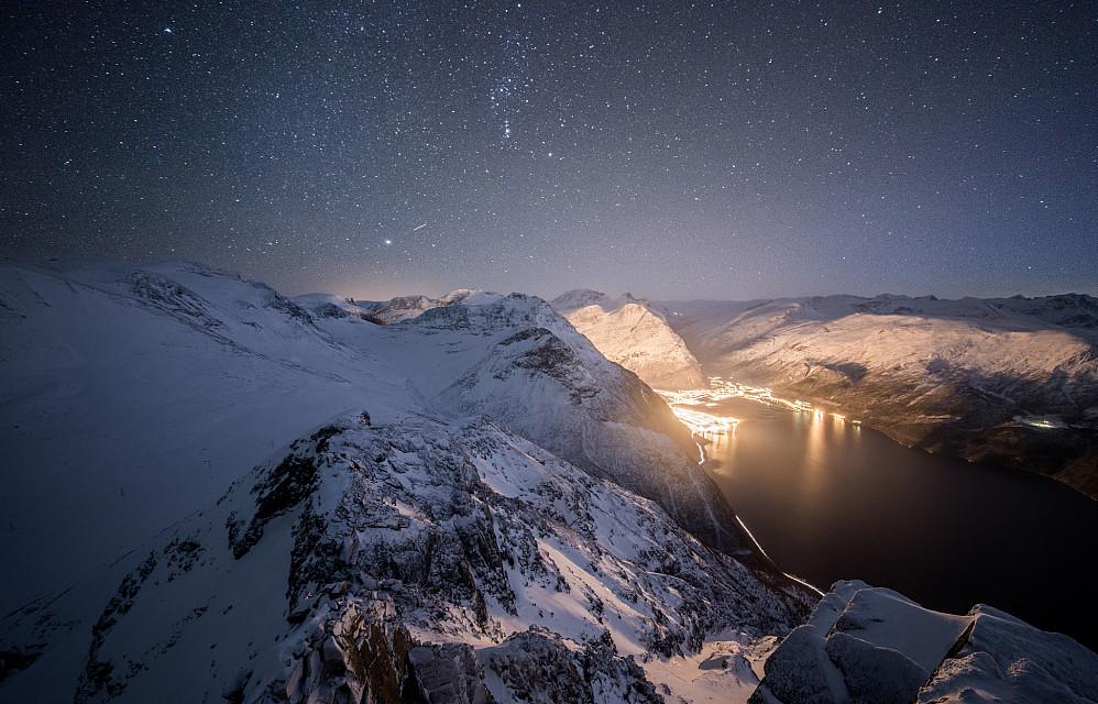 Stjerner over Sunndalen